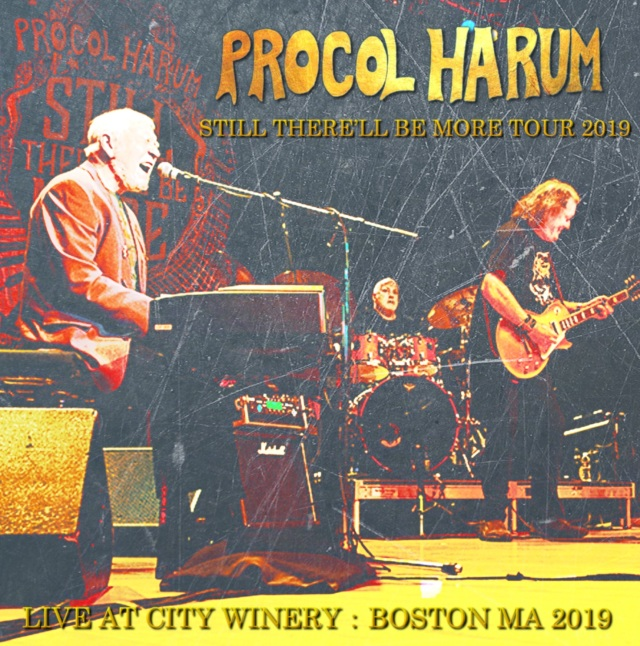 コレクターズCD Procol Harum - Still There'll Be More Tour 2019