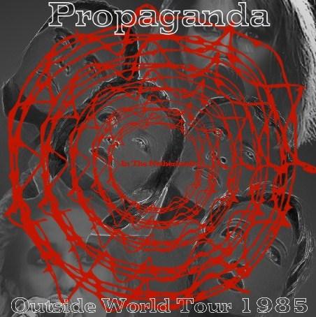 コレクターズCD プロパガンダ (Propaganda) 1985年 ヨーロッパ Tour