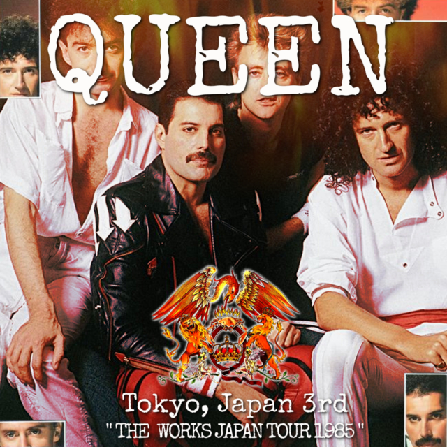 コレクターズCD Queen - The Works Japan Tour 1985