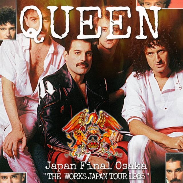 コレクターズCD Queen - The Works Japan Tour 1985 Final