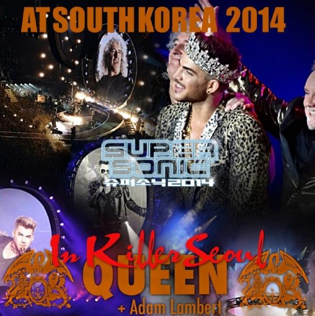 コレクターズCD クィーン+アダム・ランバート 2014年韓国公演
