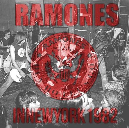 コレクターズCD ラモーンズ 1982年アメリカツアー