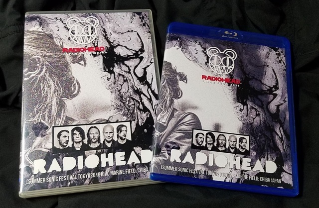 コレクターズBlu-ray  Radiohead - A Moon Shaped Pool Tour 2016