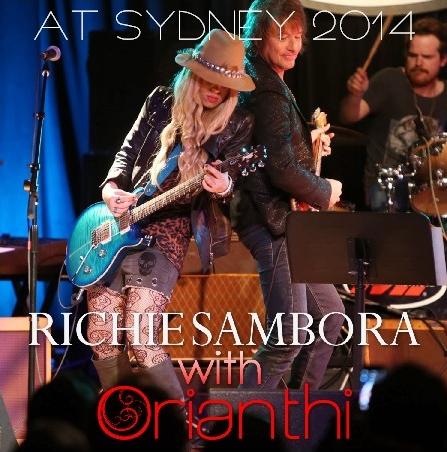 コレクターズCD リッチー・サンボラ(Richie Sambora)with ORIANTHI 2014年 ソロ オーストラリアツアー