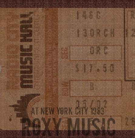 コレクターズCD  ロキシーミュージック 1983年アメリカツアー