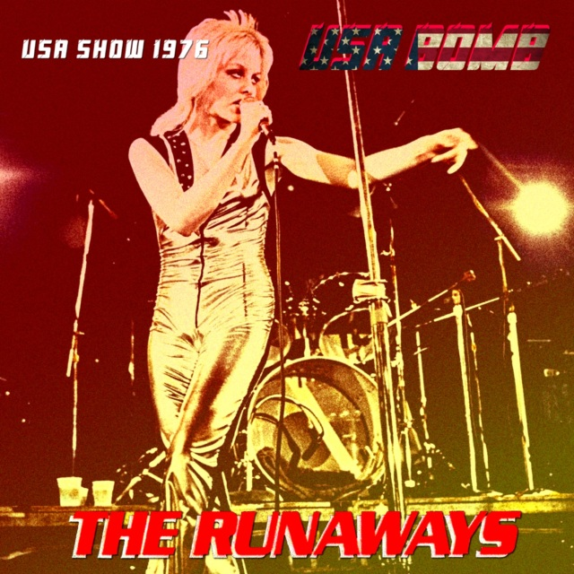 コレクターズCD The Runaways - USA Tour 1976