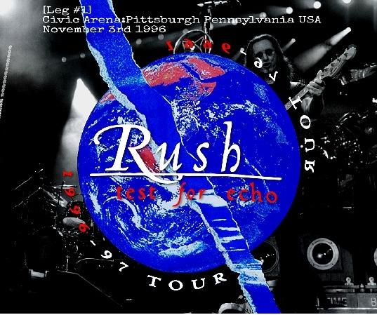 コレクターズCD ラッシュ1996年アメリカツアー