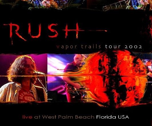 コレクターズCD ラッシュ 2002年アメリカツアー