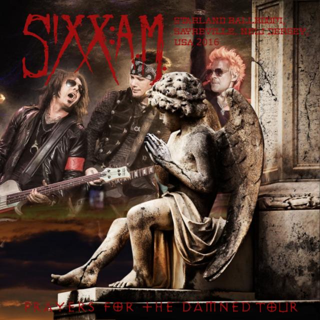 コレクターズCD シックス:エイ・エム(SIXX:A.M. )2016年アメリカンツー