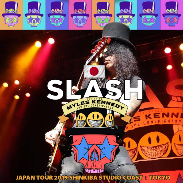 コレクターズCD SLASH Featuring Myles Kennedy and The Conspirators - Japan Tour 2019