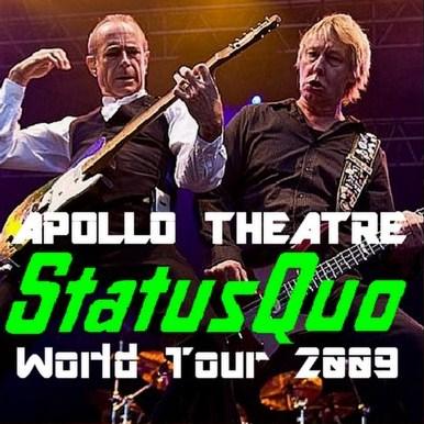 ステイタス・クオー2009年ヨーロッパツアー12日8日 マンチェスター