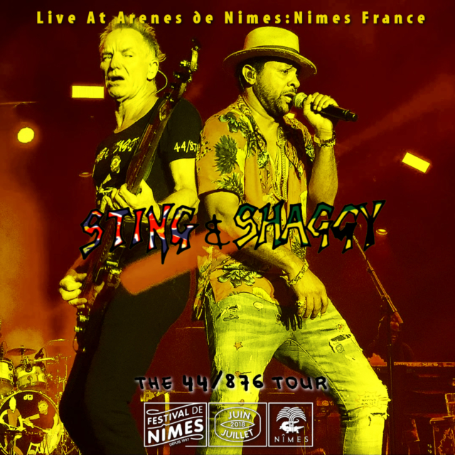コレクターズCD STING & SHAGGY - The 44/876 Tour 2018