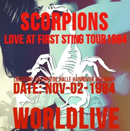 コレクターズCD スコーピオンンズ 1984年ヨーロッパツアー(Love at First Sting Tour 1984)