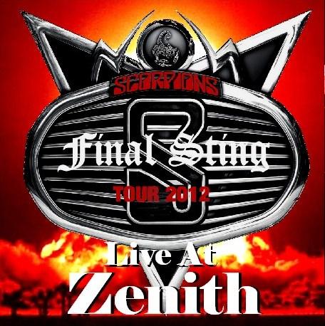 コレクターズCD Scorpions(スコーピオンズ)の2012年 ファイナルツアー