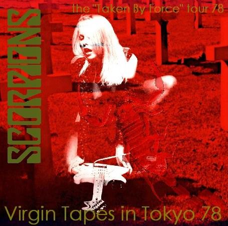 コレクターズCD Scorpions(スコーピオンズ78年日本公演 中野サンプラザ 完全盤)