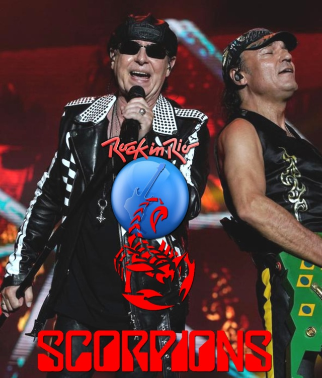 コレクターズBlu-ray Scorpions - Rock in Rio 2019