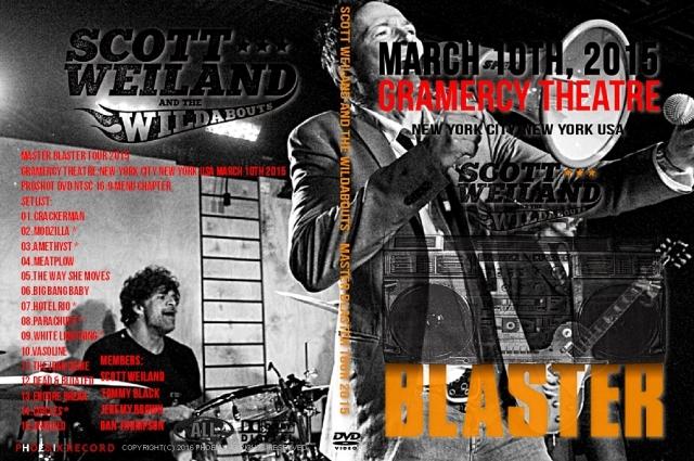 コレクターズDVD  スコット・ウェイランド 2015年アメリカンツアー