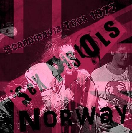 コレクターズCD セックス・ピストルズ (Sex Pistols)77年スカンジナビア公演 Norway