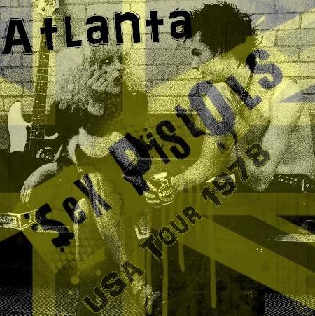 コレクターズCD セックス・ピストルズ (Sex Pistols)78年アメリカ公演 Atlanta