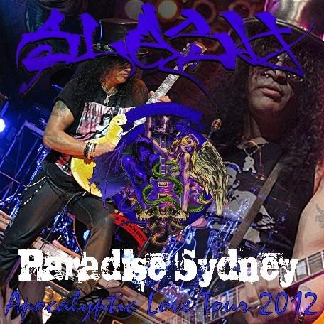 コレクターズCD スラッシュ (Slash) 2012年オーストラリアツアー