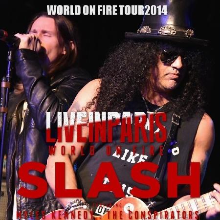 コレクターズCD ローリングストーンズ2014年ヨーロッパツアーツアー 14 on Fire European Tour スラッシュ 2014年ヨーロッパツアー