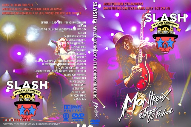 コレクターズDVD Slash ft. Myles Kennedy & the Conspirators Montreux Jazz Festival 2019