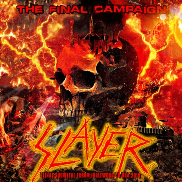コレクターズCD Slayer - The Final Campaign Tour 2019