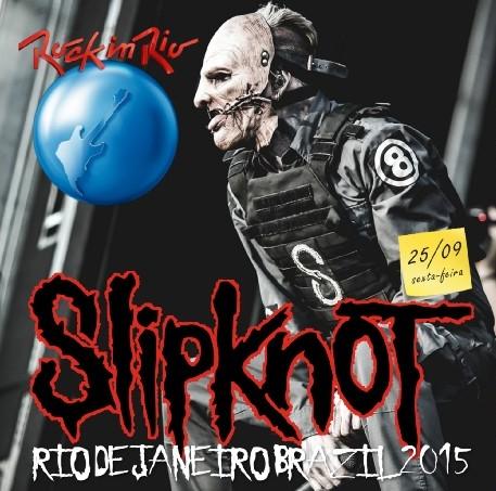 コレクターズCD スリップノット (Slipknot)2015年南米公演 9月25日ブラジル リオ