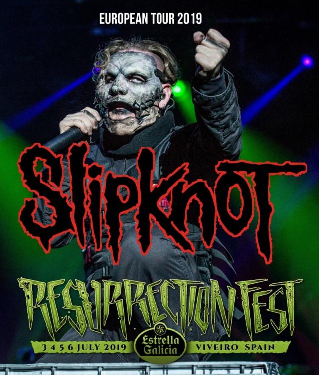 コレクターズBlu-ray Slipknot - European Tour 2019