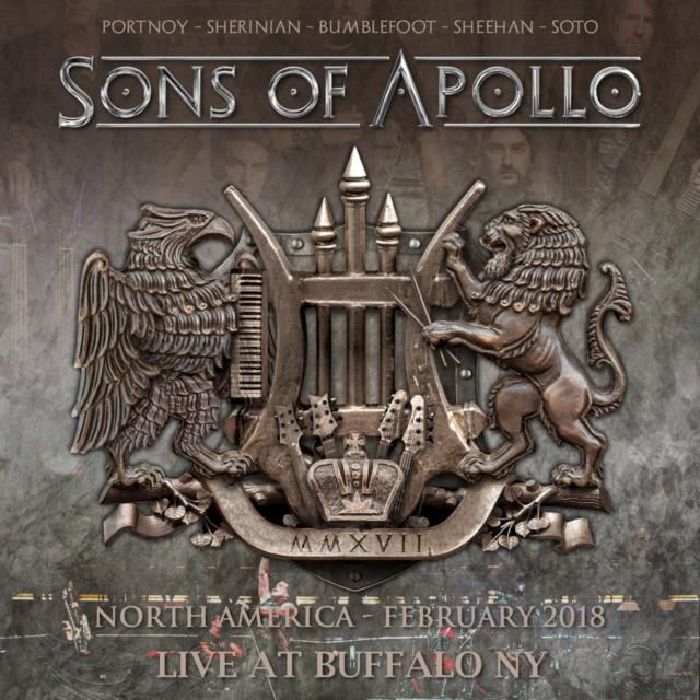 コレクターズCD サンズ・オブ・アポロ(Sons Of Apollo) 2018年ノースアメリカンツアー