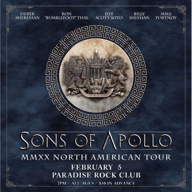 コレクターズCD Sons of Apollo - MMXX Tour 2020