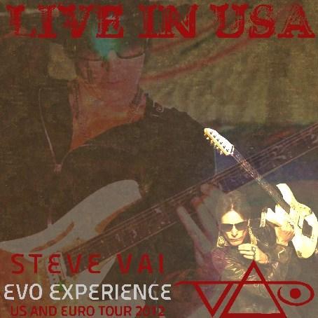 コレクターズCD スティーヴ・ヴァイ(Steve Vai)2012年 アメリカ・ツアー