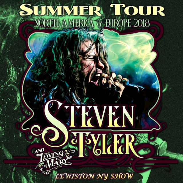 コレクターズCD Steven Tyler - Summer Tour 2018