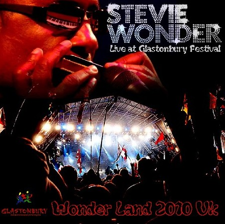 コレクターズCD スティーヴィー・ワンダー(Stevie Wonder 2010年グラストンベリー・フェスティバル)2010.06.27 Pilton UK