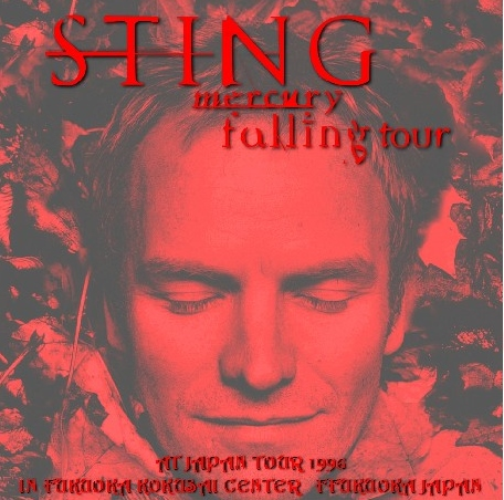 コレクターズCD スティング(Sting)1996年日本公演