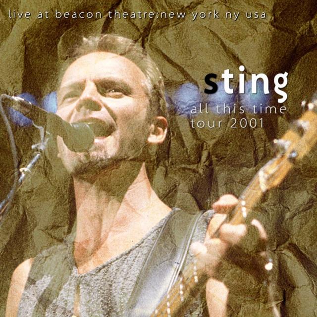 コレクターズCD Sting - All This Time Tour 2001