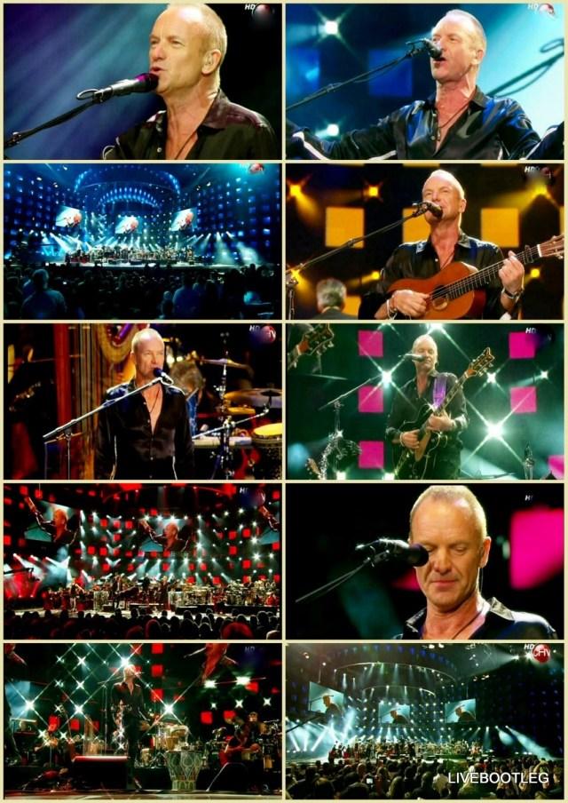 コレクターズDVD スティング(Sting)2011年南米公演 チリ 2011.02.25
