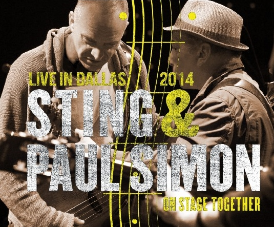コレクターズCD Paul Simon & Sting - On Stage Together Tour 2014