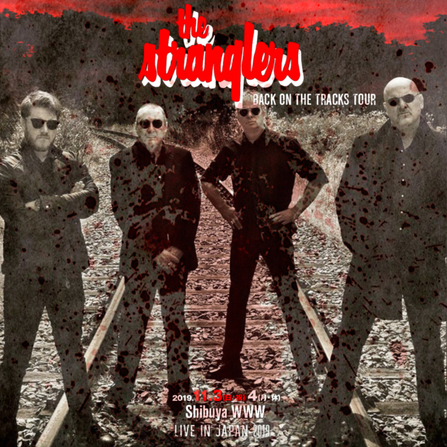 コレクターズCD The Stranglers - Back On The Tracks Japan Tour 2019