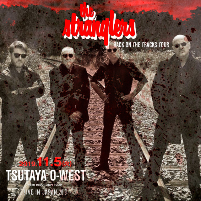 コレクターズCD The Stranglers - Back On The Tracks Japan Tour 2019 Final