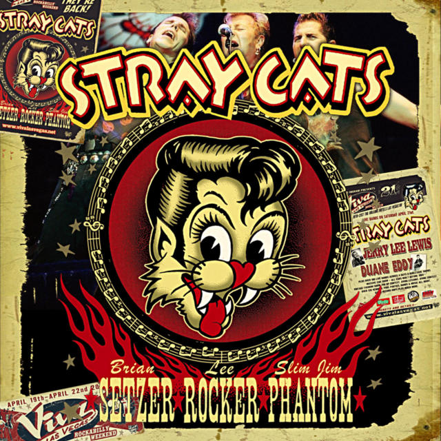 コレクターズCD  Stray Cats - In Las Vegas 2018