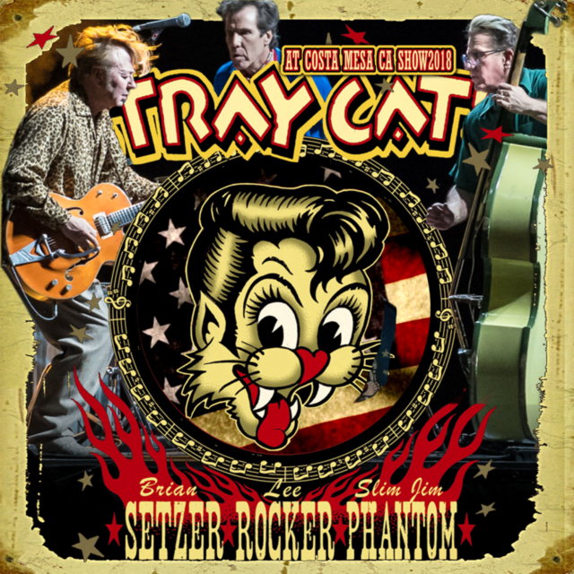 コレクターズCD Stray Cats - At California 2018