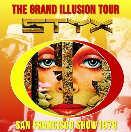 コレクターズCD スティクス (Styx) 1978年アメリカツアー
