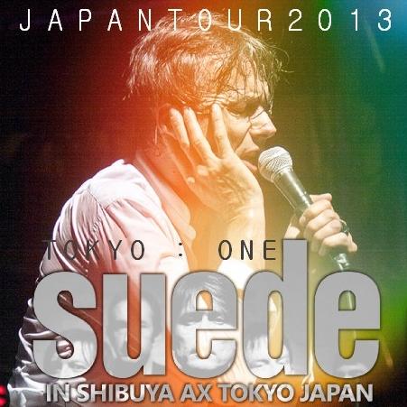コレクターズCD スウェード(Suede) 2013年 日本公演