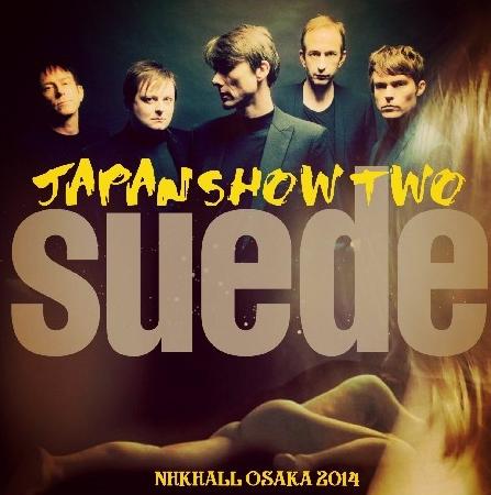 コレクターズCD スウェード(Suede)2014年日本公演 大阪