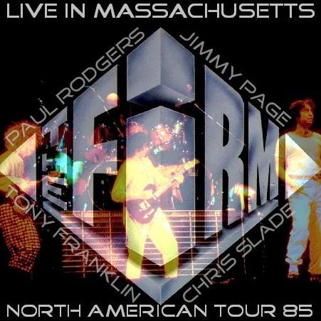 コレクターズCD Jimmy Page's The Firm(ファームw/ポールロジャース 85年北米ツアー)Massachusetts 85.05.08