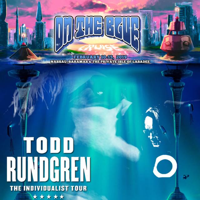 コレクターズCD Todd Rundgren - On The Blue Cruise 2019