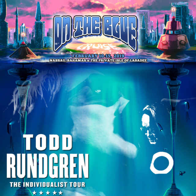 コレクターズCD Todd Rundgren - On The Blue Cruise 2019