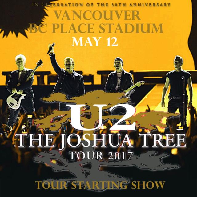 コレクターズCD U2 2017年ノースアメリカン ツアー The Joshua Tree Tour 2017