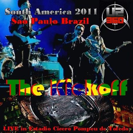 コレクターズCD U2(ユーツー)2011年 南米公演 ブラジル